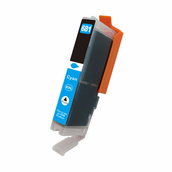 Premium Cyan Compatible Inkjet Cartridge (Replacement for CLI-681CXL)