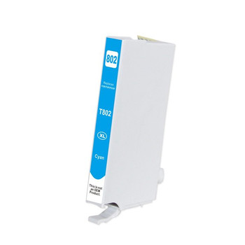 Cyan Compatible Inkjet Cartridge (Replacement for 802XL)