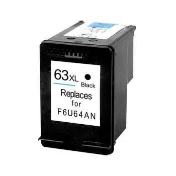 HP Compatible 63XL Black Remanufactured Inkjet Cartridge