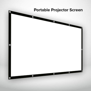 120inches Portable Screen for PIQO Projector - The world's smartest 1080p mini pocket projector