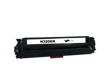 HP Compatible [5 Star] CE320 #128A Black Remanufactured Generic Toner