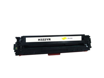 HP Compatible [5 Star] CE322 #128A Yellow Premium Remanufactured Toner