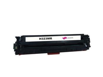 HP Compatible [5 Star] CE323 #128A Magenta Premium Remanufactured Toner