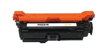 HP Compatible [5 Star] CE402A #507A Premium Remanufactured Yellow Toner