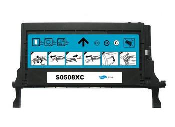 SAMSUNG [5 Star] CLT-C508C Premium Remanufactured Cyan Toner