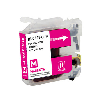 BROTHER [5 Star] LC135XL Magenta Compatible Inkjet Cartridge