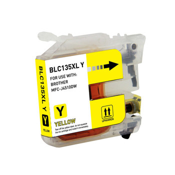 BROTHER [5 Star] LC135XL Yellow Compatible Inkjet Cartridge