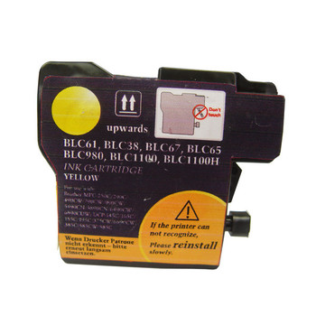 BROTHER [5 Star] LC38 LC67 Yellow Compatible Inkjet Cartridge