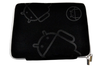 Tablet 10' MofiZip Case Black Andriod logo. Suit any 10' tab