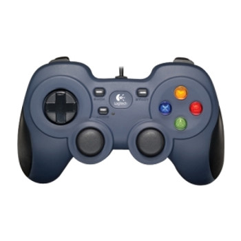 Logitech F310 Gamepad For PC 8-way D-pad Sports Mode Work with Android TV Comfortable grip 1.8m cord Steam big picture
