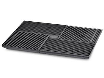 Deepcool Multi Core X8 Notebook Cooler 15.6' Max, 4x 100mm Fans, Pure Al Panel, 2x USB, Fan Control