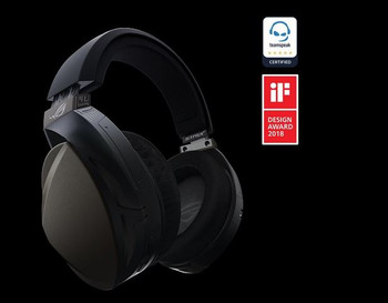 ASUS ROG STRIX FUSION Wireless Over-the-ear Gaming Headset For PC / Pllaystation 4, Up To 15 Hours Play