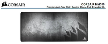 Corsair MM350 Premium Anti-Fray Cloth Gaming Mouse Pad Extended Extra Large Edition 930mm x 400mm x 5mm