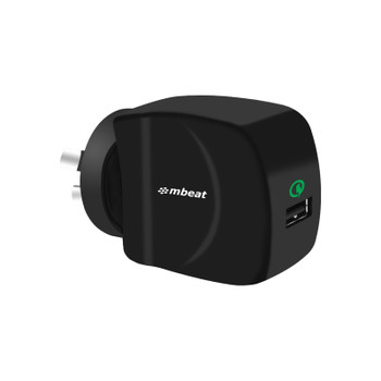 mbeat Gorilla Power QC Qualcomm Certified USB Quick Charge2.0 Charger
