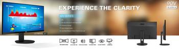 AOC 27' IPS 5ms, 4K 3840 x 2160, DP, HDMI, Flicker Free, Low Blue Mode Business Monitor. (LS)