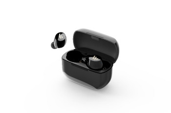 Edifier TWS1 Bluetooth Wireless Earbuds - BLACK/Dual BT Connectivity/Wireless Charging Case/12 hr playtime/9 hr Charge/8mm Magnetic Driver