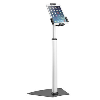 Brateck Anti-Theft Aluminum Tablet Freestanding Kiosk, for Most 7.9'-10.5' Tablets