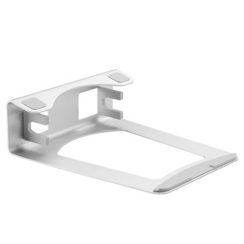 Brateck 2-in-1 Adjustable Aluminium Laptop Stand – Supports any Notebook/Laptop under 10.'-15.6' Size & Ultrathin notebook under 16mm thickness.(LS)