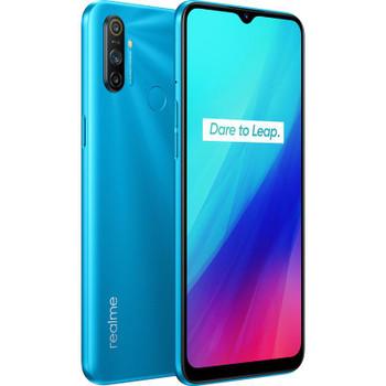 Realme C3 Frozen Blue- with 65' Display, 12MP AI Triple Camera, Helio G70 Processor, 3GB RAM, 64GB ROM, Nano Sim, 5000mAh battery