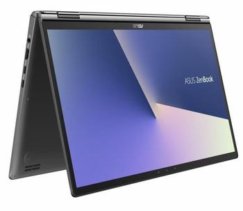 Asus Zenbook 13.3' FHD TOUCH i7-8565U 16GB 512GB SSD WIN10 PRO UHDGraphics620 Backlit Gun Grey Stylus Sleeve 1.3kg W10P Notebook(LS)