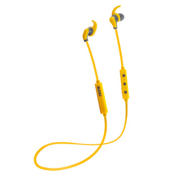MOKI Hybrid Bluetooth Earphones - Yellow