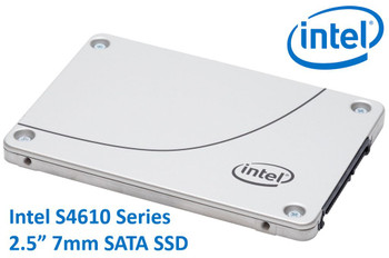 INTEL DC S4610 2.5' 960GB SSD SATA3 6Gbps 3D2 TCL 7mm 560R/510W MB/s 96K/51K IOPS 3xDWPD 2 Mil Hrs MTBF Data Center Server s ~HBI-S4510-960GB