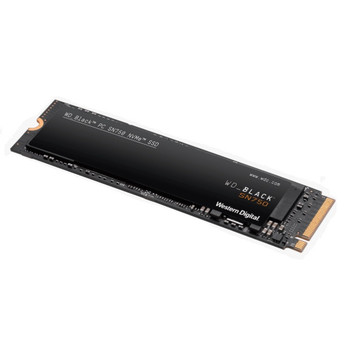 WESTERN DIGITAL Digital WD Black SN750 250GB NVMe SSD 3100MB/s 1600MB/s R/W 200TBW 220K/180K IOPS M.2 2280 PCIe Gen 3 1.75mil hrs MTBF