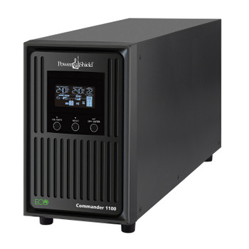 POWERSHIELD Commander 2000VA / 1800W Line Interactive Pure Sine Wave Tower UPS with AVR. Telephone / Modem / LAN Surge Protection, Australian Outlets