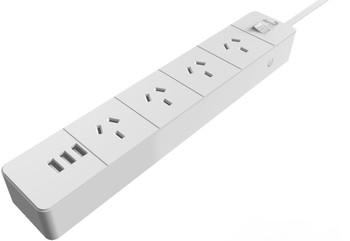 AEROCOOL ASA SA4A3U2 Power Board w/ 4 AC Outlet and 3 USB Charging Ports, 5V/2.4A LS