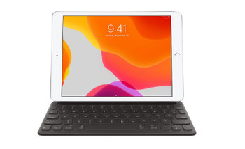 APPLE Smart Keyboard for iPad 102 (8th generation) — US English, Full-sized, Portable, Folds to create a slim, lightweight cover