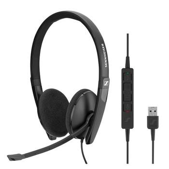 SENNHEISER l Sennheiser ADAPT SC160 USB Wired binaural USB headset Skype for Business certified and UC optimized