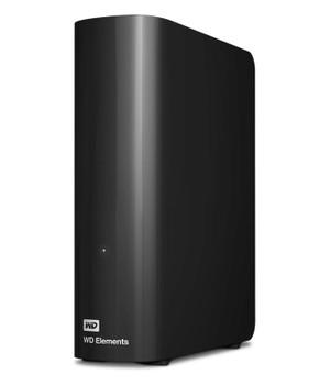 WESTERN DIGITAL Digital WD Elements Desktop 6TB USB 3.0 3.5' External Hard Drive - Black Plug & Play Formatted NTFS for Windows 10/8.1/7