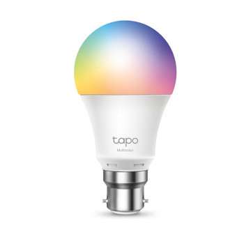 TP-LINK Tapo L530B Smart Wi-Fi Light Bulb, Bayonet Fitting, Multicolour (B22 / E27), No Hub Required, Voice Control, Schedule & Timer, 60W