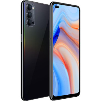 OPPO Reno4 5G 128GB Space Black - 6.4' Diagonal Display, SnapdragonÔäó 765G, RAM 8GB, Dual Front Lenses, Fast Charge support, 4000mAh battery
