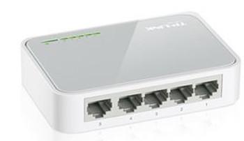 TP-LINK SF1005D 5port Switch 10/100m Desktop Plastic Case