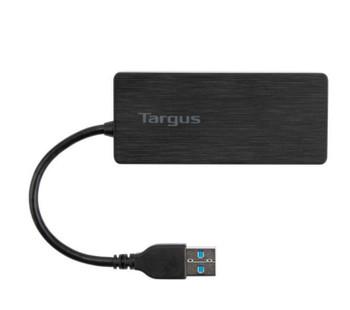 Targus 4 Port Smart USB 3.0 Hub Self-Powered with 10 Times Faster Transfer Speed Than USB 2.0