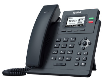 Yealink T31G 2 Line IP phone, 132x64 LCD, Dual Gigabit Ports, PoE. No Power Adapter included