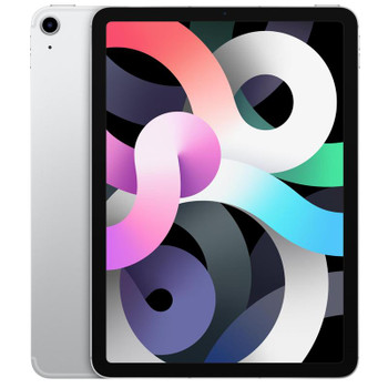 Apple iPad Air 10.9 inch Wi-Fi 64GB - Silver (4th Gen) - 10.9' Retina Display,A14 Bionic chip with Neural Engine,iPadOS 14,Wi-Fi only