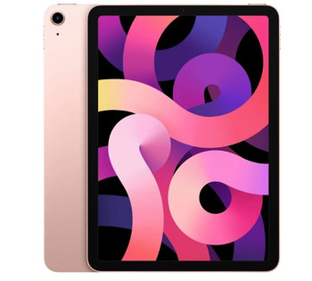 Apple iPad Air 10.9 inch Wi-Fi 256 GB - Rose Gold (4th Gen)-10.9' Retina Display,12 MP Camera,A14 Bionic chip with Neural Engine,iPadOS 14,Wi-Fi only
