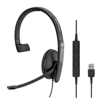 EPOS l Sennheiser  ADAPT SC130 USB Wired monaural USB headset. Skype for Business certified and UC optimized.