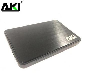 AKY USB 3.0,  2.5' External HDD Enclosure, Slim, Tool Free Design,  SATA, Black