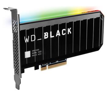 WESTERN DIGITAL Western Digital WD Black AN1500 1TB RGB NVMe SSD AIC - 6500MB/s 4100MB/s R/W 760K/690K IOPS 1.75M Hrs MTBF RAID PCIe3.0 Add-in-Card 3D-NAND 5yrs