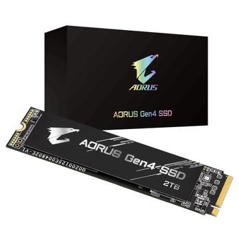 GIGABYTE M.2 AORUS Gen4 SSD 2TB 5000/4400 MB/s PCI-Express 4.0x4, NVMe 1.3 GP-AG42TB