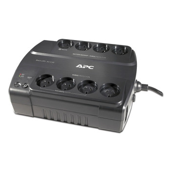APC Back Up UPS, 550VA, 230V, 330W, 8 x Power Sockets, Wall Mountable, Perfect Battery Backup & Surge Protection for Home Computers, 2 Year Warranty
