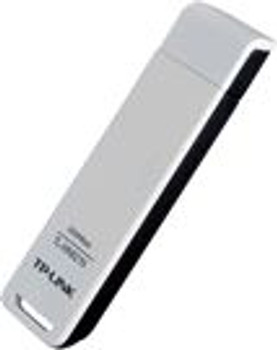 TP-LINK TL-WN821N N300 Wireless N USB Adapter 2.4GHz (300Mbps) 1xUSB2 802.11bgn On Board Antenna MIMO technology WPS button
