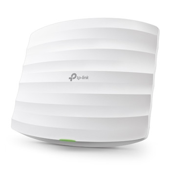 TP-LINK EAP245 AC1750 Wireless MU-MIMO Gigabit Ceiling Mount Access Point, Seamless Roaming, Cloud Centralised Management, POE, Band Steering