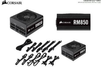 CORSAIR 850W RM 80+ Gold Fully Modular 135mm FAN, ATX Power Supply, PSU, 10 Years Warranty