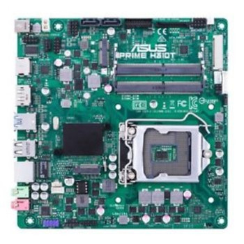 ASUS PRIME H310T R2.0-SI DDR4 32GB Supports 8th Gen 9th Gen 2x SODIMM 1xDP/1xHDMI/1xM.2 (special system build only, requires DC power to turn on)