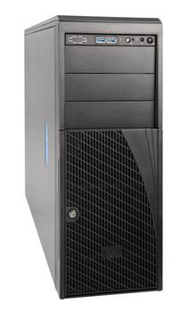 INTEL 4U Pedestal Server, Intel Xeon Silver 4208 (1/2) 8 x 3.5' HDD Bays, 16 x DIMM SLOTS ,HW RAID, 2x 10GbE, 750W RPSU (2/2), RMM,, 3yr WTY