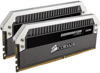 CORSAIR Dominator Platinum 32GB (2x16GB) DDR4 3000MHz C15 Desktop Gaming Memory